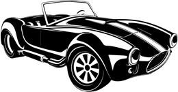 Adesivo  Decorativo de Parede Shelby Cobra (115x60cm)