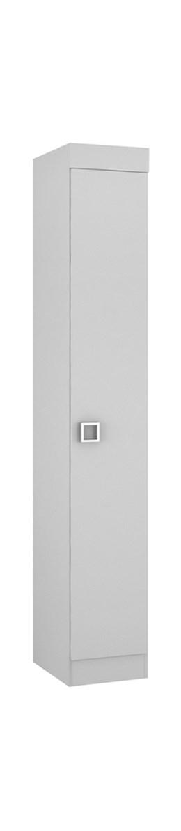 Armário 01 Porta Buri 35100 Branco - Palmeira Móveis