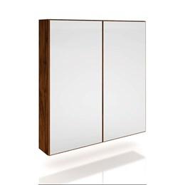 Armario 2 Portas Com Espelho e LED Freijo Nobre