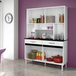 Armário de Cozinha Ventura 8 Portas e 2 Gavetas Branco - CHF Móveis