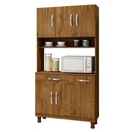 Armário para cozinha 6 portas Lírio Rovere - Kaiki Móveis