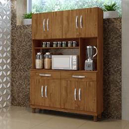 Armário para cozinha 8 portas Gardênia Rovere - Kaiki Móveis