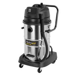 Aspirador Pó e Líquidos Hidropó 1200W 110V 50 litros Inox - Schulz