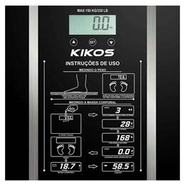Balança Digital até 150Kg Ison Kikos