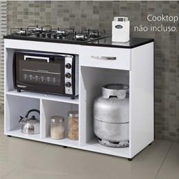 Balcão Cooktop Violeta Basculante - kaiki Móveis