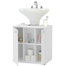 Balcão Para Banheiro 2 Portas  - Politorno