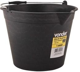 Balde Plastico para Concreto 12 litros Vonder