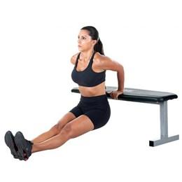 Banco Estofado Para Exercícios Físicos Reto br21 Kikos
