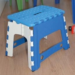 Banqueta Dobravel Infantil Azul