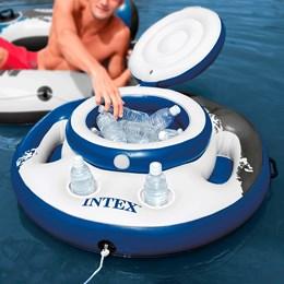 Bar Cooler Flutuante 15 Litros 30 Latas 05 Porta Copos - Intex