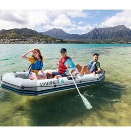 Barco Inflável Mariner 4 Com Suporte Para Motor - Intex