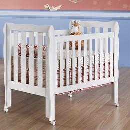 Berço Americano Mini Cama 3 em 1 Lilla - Carolina Baby