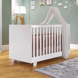 Berço Mini Cama Life Tigus Baby Branco
