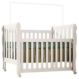 Berço Mini-cama Lila 100% MDF Branco - Carolina Baby