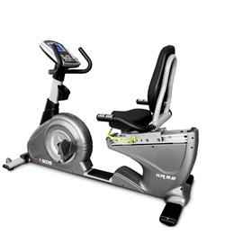 Bicicleta Ergométrica Kikos Eletromagnética KRB99  - Cinza/Preto