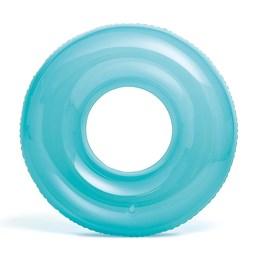 Boia Infantil Transparente Grande Azul - Intex
