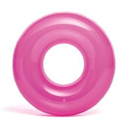 Boia Infantil Transparente Grande Rosa - Intex