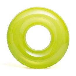 Boia Infantil Transparente Grande Verde - Intex