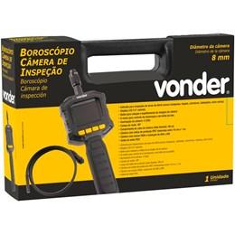 Boroscópio câmera de inspeção 8mm Display 2,4 polegadas Vonder