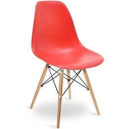 Cadeira Eames Vermelha - Elegance