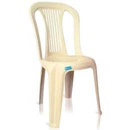 Cadeira Plástica Bistrô Ponte Nova Bege - Antares