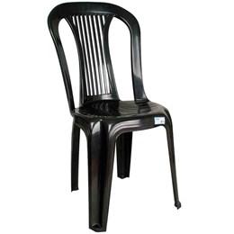 Cadeira Plástica Bistrô Ponte Nova Preta - Antares