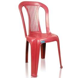 Cadeira Plástica Bistrô Ponte Nova Vinho - Antares