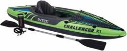 Caiaque K1 Challenger com remo e Sacola de Transporte Intex