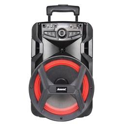 Caixa Amplificadora ACA-185 NEW X Amvox USB/AUX/TF/MIC/Bluetooth FM Bivolt 180W