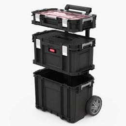 Caixa De Ferramentas Organizadora Connect System Preto - Keter