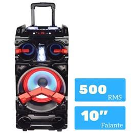 Caixa De Som Amplificada Lenoxx Ca390 - Bluetooth 500w