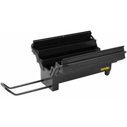 Caixa metálica p/ ferramentas c/ Roda  e alça retratil - Vonder