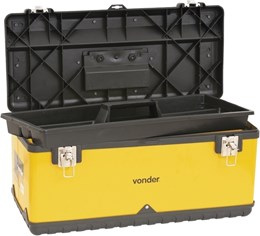 Caixa Metálica para Ferramentas Grande c/ Bandeja CMV 0590 Vonder