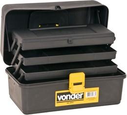 Caixa plástica/maleta VD-3001 03 bandejas VONDER