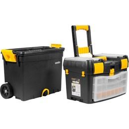 Caixa plástica para ferramentas com rodas CRV 0400 VONDER