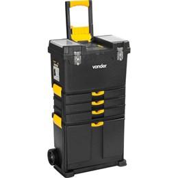 Caixa plástica para ferramentas com rodas CRV 0500 VONDER
