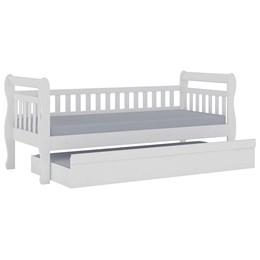 Cama Infantil Auxiliar Móveis Peroba (Não Acompanha Colchão) Branco
