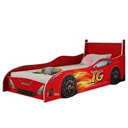 Cama Intantil Carro Fast TG Vermelho - Tigus Baby
