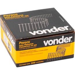 Carretel de Prego Liso 38mm com 300 Peças para Pregador PP 550 - Vonder
