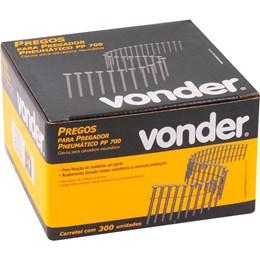 Carretel de Prego Liso 50mm com 300 Peças para Pregador PP 700 - Vonder