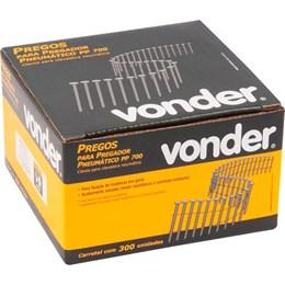 Carretel de Prego Liso 70mm com 300 Peças para Pregador PP 700 - Vonder