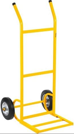 Carrinho Para Armazém 180kg Metálico  Leve Roda Borracha/Peça - Vonde