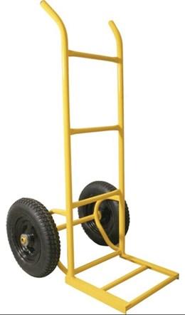 Carrinho Para Armazém 250kg Metálico Pesado Roda Pneu Câmara/Peça - Vonde
