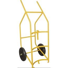 Carrinho Para Transportar E Entornar Tambor 280kg Roda Pneu Câmara /Peça - Vonder