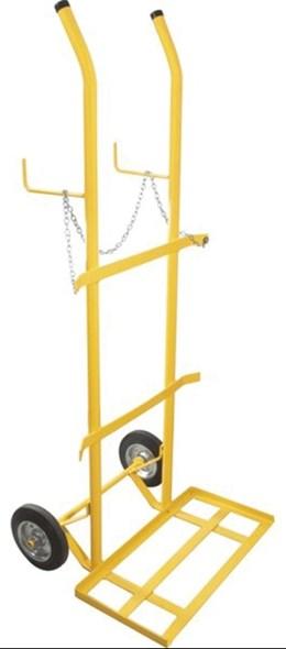 Carrinho para transporte de oxigênio e acetileno capacidade para 2 cilindro - Vonder