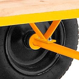 Carrinho plataforma de madeira 600 kg desmontado - Vonder