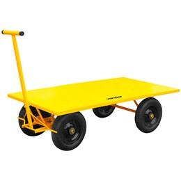 Carrinho plataforma metálico 600 kg - Vonder