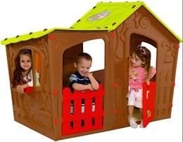 Casinha de Montar Infantil Magic Villa Marrom - Keter