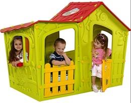 Casinha de Montar Infantil Magic Villa Verde - Keter