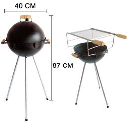Churrasqueira Americana Brasa Grill Bafo Carvão
